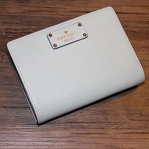 Kate Spade Snap Wallet in Tiffany Blue